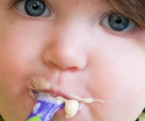 Independent Toddler and Eating