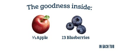 2nd Foods - Apple Blueberry