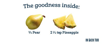 2nd Foods - Pear Pineapple