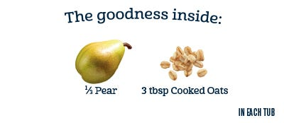 2nd Foods Cereals - Pear Cinnamon with Oatmeal