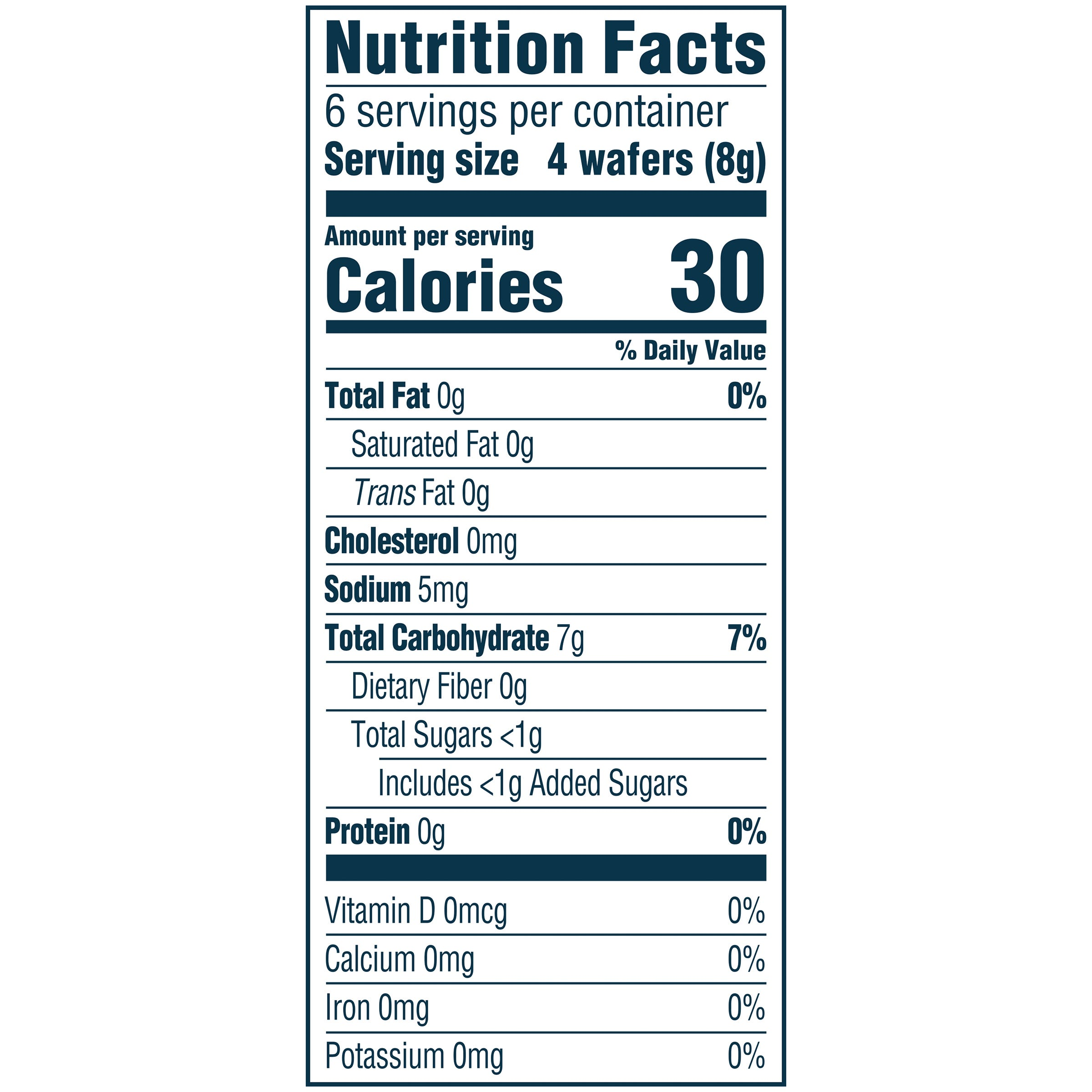 Nutrition Facts Mango Banana Carrot