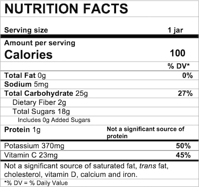 Nutrition Facts Banana