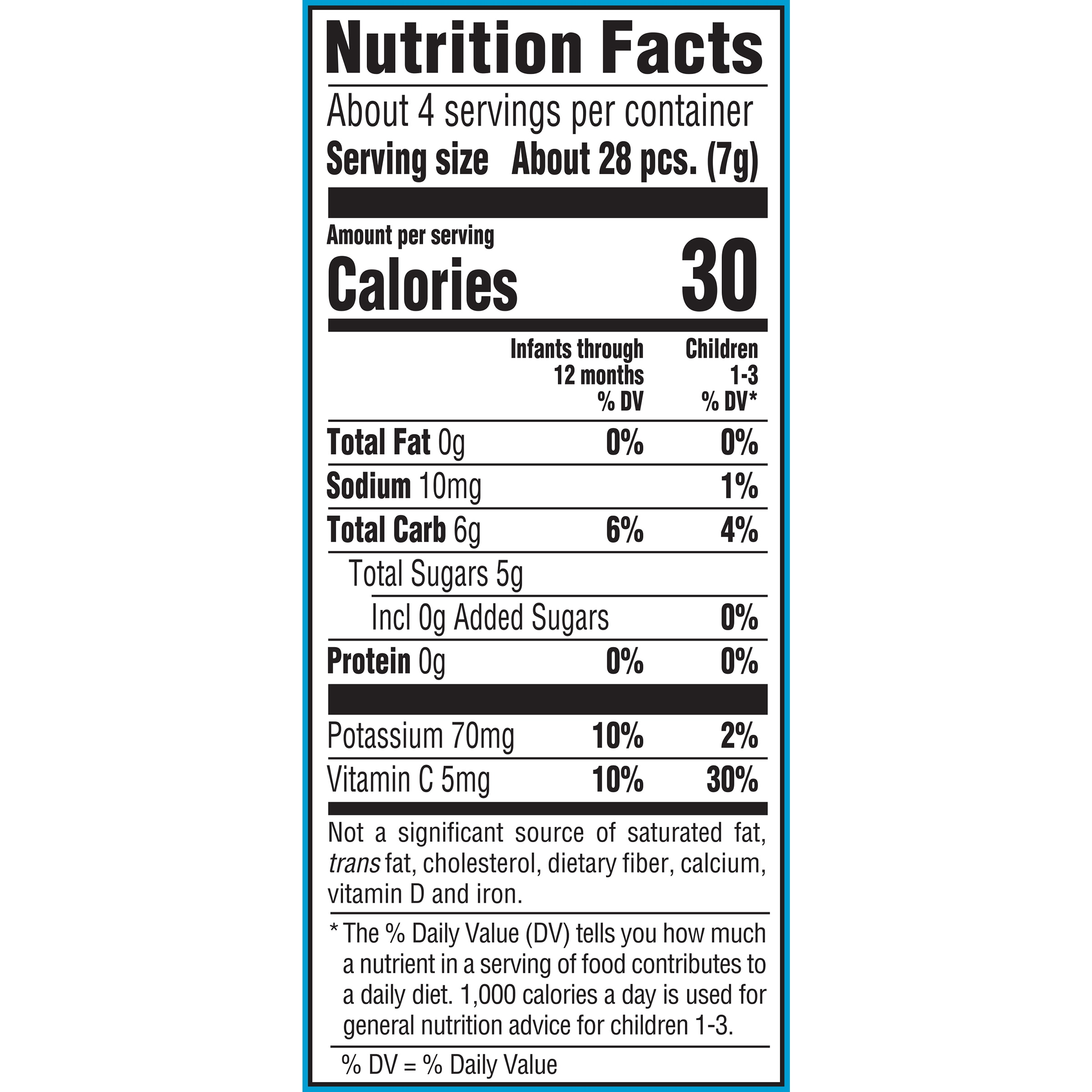 Whipped Melts Banana Apple Blueberry Nutrition Facts