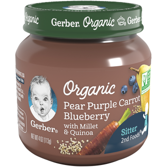 Pear Purple Carrot Blueberry