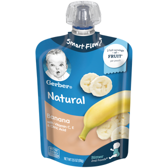 Pouch of Banana 2nd Foods Baby Food