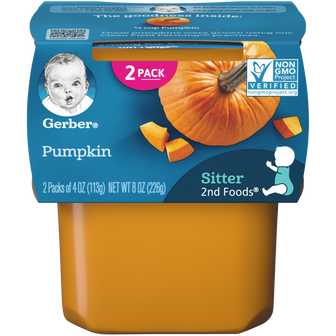 Gerber 2nd Foods Pumpkin Baby Food