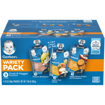 Toddler Baby Food Value Pack