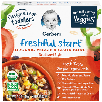 Freshful Start Veggie and Grain Bowl - Southwest Style