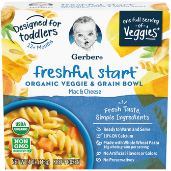 Freshful Start Veggie and Grain Bowl - Mac & Cheese