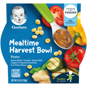 Gerber Pesto Mealtime Harvest Bowl