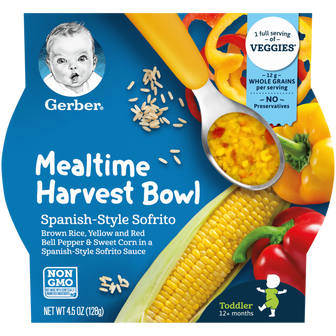 Gerber Spanish Style Sofrito Mealtime Harvest Bowl