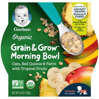Organic Grain and Grow™ Morning Bowl
