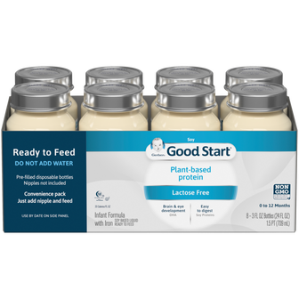 Gerber® Good Start® Soy Ready to Feed Infant Formula Nursers