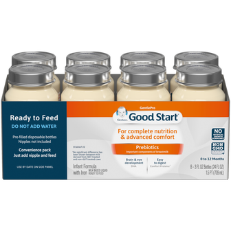 Gerber® Good Start® GentlePro Ready to Feed Infant Formula Nursers