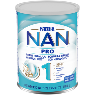28oz Canister of NAN Pro 1 Infant Formula
