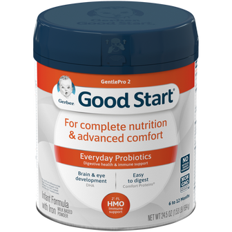 Canister of Gerber Good Start GentlePro 2 Powder Infant Formula