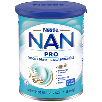 Canister of NAN® Pro Toddler Drink