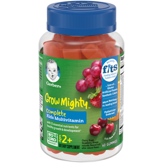 Container of Grow Mighty™ Complete Kids Multivitamin