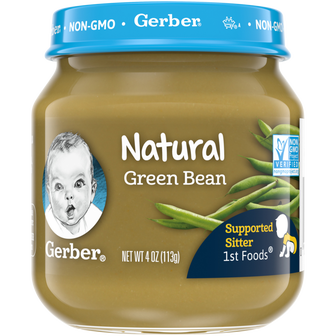 Gerber 1st Foods Natural Green Bean