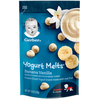 Gerber Banana Yogurt Melts