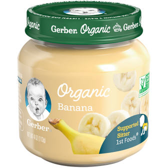 Jar of Organic 1st Foods Baby Food