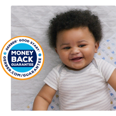 Baby and Gerber Money Back Guarantee