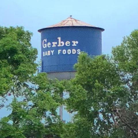 Gerber water tower